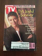 TV Guide May 22-28, 1993 Linda Ellerbee Breast Cancer Survivor, TV-Movies Waco