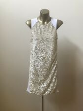 Finders Keepers | Ivory Sequin Dress | Size Small |