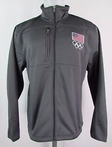 Youth Team USA Full Zip Soft Shell Polyester Performance Jacket