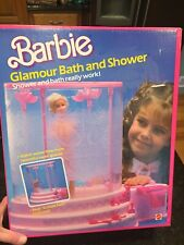 BARBIE GLAMOUR BATH & SHOWER FURNITURE ACCESSORIES  EXCELLENT CONDITION
