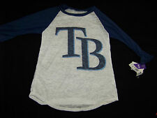 Touch By Alyssa Milano Tampa Bay Rays Women's Shirt NWT Large
