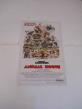 ANIMAL HOUSE 1981 Vintage MOVIE POSTER Pin Up John Belushi / FRAT PARTY BEER SEX