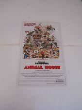 ANIMAL HOUSE 1981 Vintage MOVIE POSTER Pin Up John Belushi / FRAT PARTY BEER SEX