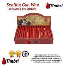 Ceralacca per pistola 10 stecche Sealing Gun Wax colore ROSSO