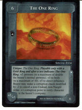 MIDDLE EARTH THE THE LIDLESS EYE RARE CARD THE ONE RING grade 8/10