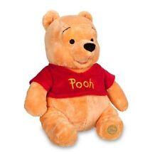 "NWT Disney Store Winnie the Pooh 14"" Medium Plush Toy Doll"