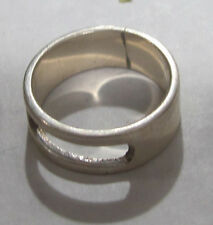 Stirling Silver Ring - .925 marking - size 6 3/4 -  NICE !!!