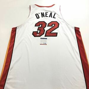 Shaquille O'Neal signed jersey PSA/DNA Miami Heat Autographed