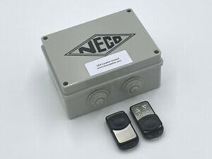 Neco Eco Remote Control System Roller Shutters (MK1 Upgrade) + 2 Remotes