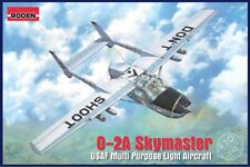 Roden 620 USAF multi-purpose Cessna O-2A Skymaster light aircraft model kit 1/32