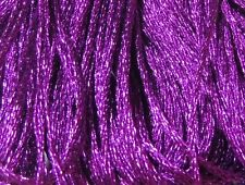 DMC Light Effects Embroidery Floss Color E718 Pink Garnet Precious Metal Effects