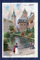 Ansichtskarte Braunschweig Partie am Burggraben - 00551