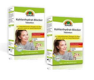 Sunlife Kohlenhydrat-Blocker Tabletten 2x32 Stück 2er-Pack