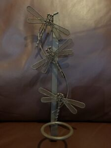 Metal Dragonfly Wall Mount