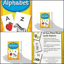 Alphabet Learning Toys For 4 Year Olds Toddlers 54 Flash Cards With Bonus Game