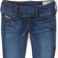5854fa34 Ladies Womens Diesel CHEROCK ORZ69 Stretch Bootcut Blue Jeans W28 L30 UK  Size 8