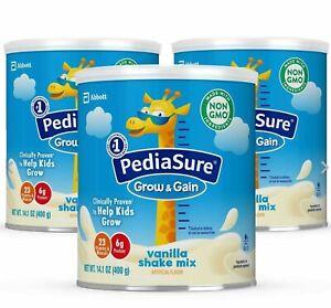 Pediasure Powder Grow And Gain Non-GMO Shake Mix Powder, Nutritional Shake For