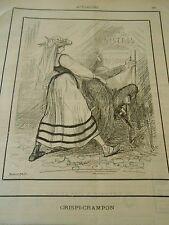 Typo 1890 Crispi Crampon