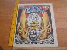 2000 Ad 1986 Judge Dredd #457 comic British magazine Yoo-Nique