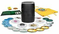 NEW Breaking Bad The Complete Series 2014 Limited Barrel Edition Blu-Ray DVD