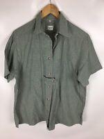 IMPERIAL LANDHAUS Trachten Bluse, grün weiß kariert, Größe 42