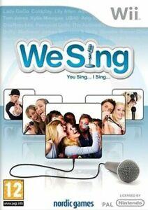 We Sing Game Nintendo Wii PEGI 12+