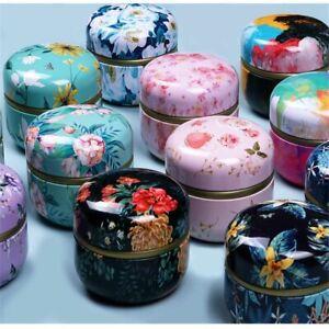 Pulverbehälter Probenkanister Kräuter Vorratsglas Make-up-Behälter Teedose