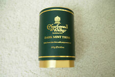 CHARBONNEL ET WALKER DARK MINT THINS DARK CHOCOLATE BOX EMPTY NEW FREE P&P