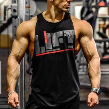 Fitness Tank Top Men Bodybuilding 2018 Clothing Fitness Men Shirt Crossfit Vests