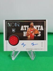 2020-21 Noir Rookie Patch Autographs Color SP /99 #376 Onyeka Okongwu R6220J