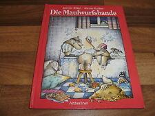 Daniel Billiet / Nicole Rutten -- die MAULWURFSBANDE // rares Bilderbuch 1993
