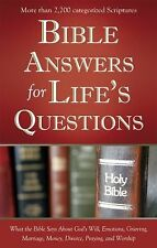 Bible Answers for Life's Questions by Barbour