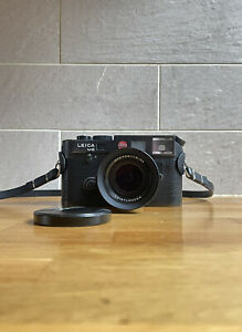 Leica M6 TTL with 14405 Grip, with Strap and Voigtlander 1.5 50mm Lens (Mint)