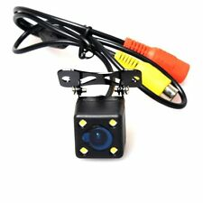 Automotive Backup Camera Reverse Cam Mirrored Image Guide Line LED Night Vision