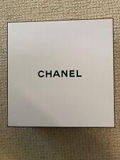 Chanel Box, 8.75� X 8.75� X 4�, Black Bottom And White Top, Empty