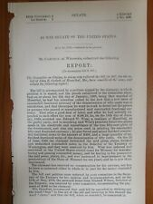 Government Report 7/18/1876 Fraudulent 50 Cent Piece in Circulation Hannibal MO