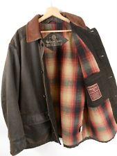 Marlboro Classics  Mens Brown Jacket  Leather Collars Size Large / XL : JA61