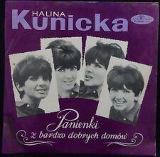 Halina Kunicka ?– Panienki Z Bardzo Dobrych Domów LP Poland world music 1967