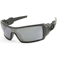 Oakley Oil Rig OO9081 03-464 Matte Black/Black Iridium Men's Sport Sunglasses