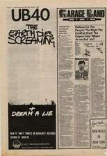 UB40 The Earth Dies Screaming Advert NME Cutting 1980