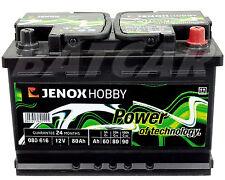Jenox Hobby 80Ah Versorgungs-Batterie ersetzt 70Ah 90Ah (Camping, Notstrom)