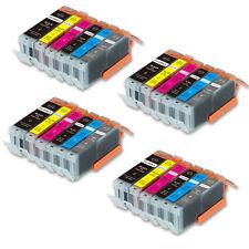 24 Pack B PBK C M Y GY Ink Set for Canon 270 271 Pixma MG7700 MG7720