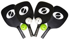 Optima Starter Pickleball Set 4 Paddles 4 Pickleballs