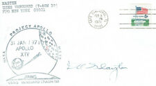 Deke SLAYTON Signed Autograph First Day Cover FDC COA AFTAL Mercury 7 Astronaut