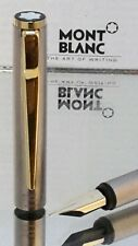 Mont Blanc Fountain Pen Noblesse Series 585 Nib Silver Functional Excellent #N10