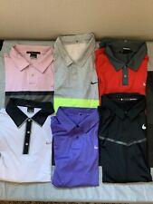 Tiger Woods Nike Golf Polo Lot Xl Euc