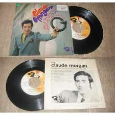 CLAUDE MORGAN - Viens Le Temps D'Une Danse Rare French EP Sixties Pop 67'