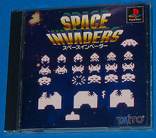 Space Invaders - Sony Playstation - PS1 PSX - JAP