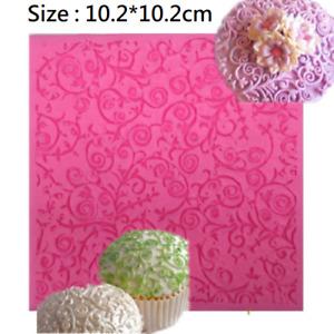 Chocolate Sugar Fondant Mat Baking Silicone Cake Mold Knitting Texture Tool #ZB1