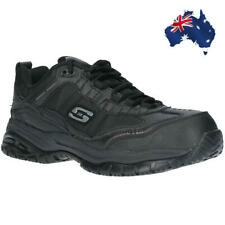 Skechers Men Soft Stride Relaxed Fit Laced Composite toe Safety Shoe work boots